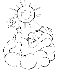 care bears coloring pages learn coloring