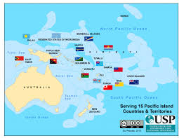 Map Of South Pacific Pace Sd U2013 Usp