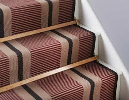 Rug Runner For Stairs Cool Carpet Runner For Stairs How To Put Carpet Runner For