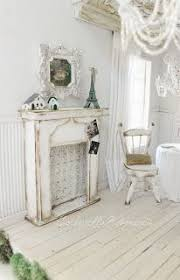 Shabby Chic Fireplace by 2690 Best All White Shabby Chic Interior Images On Pinterest