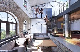 industrial loft industrial style loft in kiev showcases impressive design