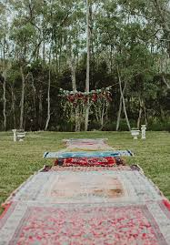 Outdoor Cer Rug Weddings With Rugs Boho Vintage Outdoor Wedding