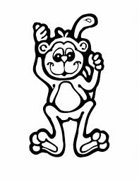 perfect monkey coloring pages cool colorings b 698 unknown