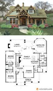 craftsman style house plans 3 beds 2 baths 1374 sq ft plan 17