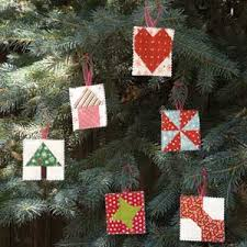 of cheer scrappy tiny quilt block ornaments pattern