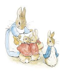 the tales of rabbit cause havoc in the garden with the tale of rabbit by beatrix