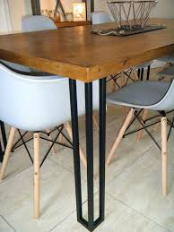 Timber Boardroom Table Dining Table Steel Legs U2013 Excitingpictureuniverse Me