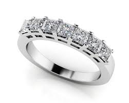 wedding rings how to wear anniversary band with wedding set art