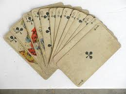 antique chromolithographic tarot cards c 1910 omero home