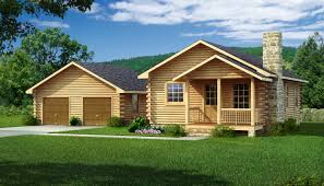 Cabin Homes by Bungalow 2 Log Cabin Kit Plans U0026 Information Southland Log
