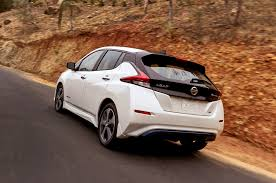 nissan leaf tire size 2018 nissan leaf first drive review motor trend
