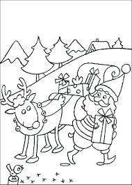 rudolph face coloring pages online kids reindeer wilma sheets
