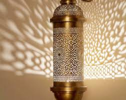 Moroccan Wall Sconce Moroccan Wall Sconce Etsy