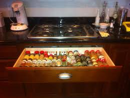 Kitchen Inserts For Cabinets by Kitchen Pull Out Spice Rack For Deliver More Goods To You
