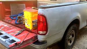 Ford F150 Truck 1997 - replace pickup truck bed 1999 ford f 150 youtube