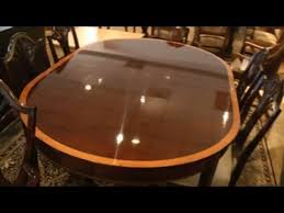stickley mahogany dining table stickley mahogany table monroe place dining youtube