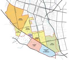 San Francisco Zip Code Map Neighborhood by Los Altos Elaine Berlin White Certified Home Marketing And