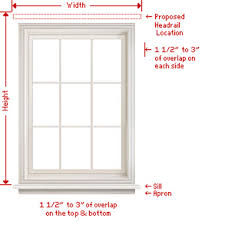 Custom Roman Shades Lowes - how to measure blinds u0026 shades