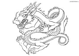 download chinese dragon printable coloring pages ziho coloring