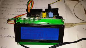 i2c control of lcd display using ywrobot lcm1602 v2 u0026 raspberry pi