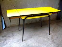 table de cuisine formica table de cuisine vintage le plateau et les allonges ont d tre