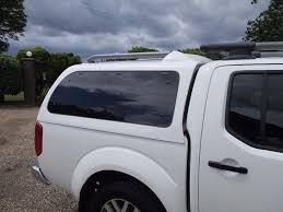 white nissan truck nissan navara white snugtop canopy hard top d40 in harrietsham