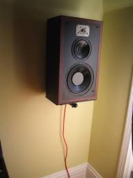 Speaker Wall Mounts Ideas For Mounting Large Surround Speakers To Wall Avs Forum