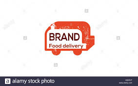 Logo Toaster Food Delivery Truck Vector Logo Design Template Toaster Vector