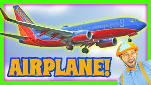 airplanes for kids learn colors with blippi youtube