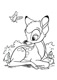 bambi coloring pages pdf games disney bambi coloring pages