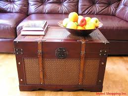 amazon com boston wood chest wooden steamer trunk large trunk