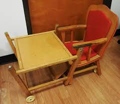 High Chair Desk Wooden High Chair Converts To Desk Kashiori Com Wooden Sofa