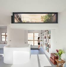 Rooftop Room Design Dream Houses White Is The Color Of Choice Inside Spacious London