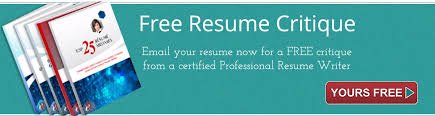 resume critique resume writing services for executives
