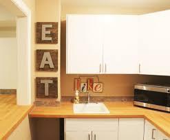 eat letters in kitchen kitchen design