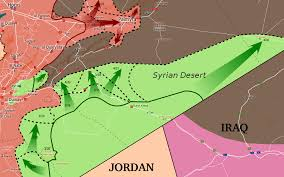 Us Commandos Enter Eastern Syria And Kill Senior Isis by Eastern Homs Offensive 2017 Wikipedia