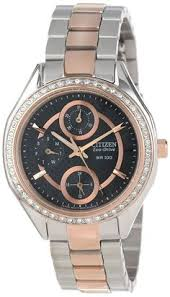 citizen watch women u0027s stainless steel el3020 52a giftit