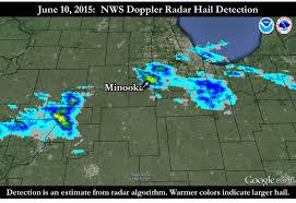Doppler Radar Map June 10 2015 Giant Hail Observed Near Minooka Il Largest In