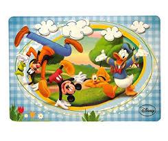 bureau mickey lot 2 set dessous de table bureau mickey et ses amis disney enfant