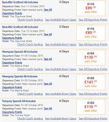 all inclusive uk breaks including transport hotel all meals drinks