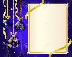 blue and gold ribbon paper blue christmas ornaments and gold ribbon shiny and new