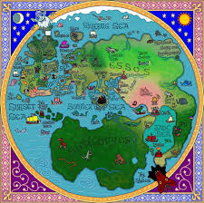 Map Of The Whole World by Westeros Map From A Game Of Thrones By George R R Martin
