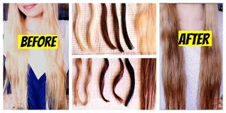 coffee rinse for hair color om hair