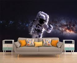 galaxy mural space wallpaper outer space wall mural stars ampliar