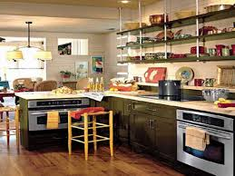 Small L Shaped Kitchen Designs Cozy And Chic Open Shelves Kitchen Design Ideas Open Shelves