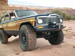 jeep prerunner bumper mercenary off road jeep grand wagoneer front winch bumper the moab