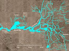 san francisco delta map sacramento san joaquin river delta
