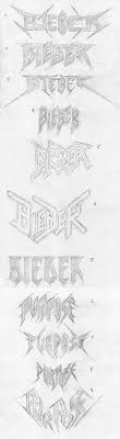 justin bieber s logo just got a metal facelift metalsucks