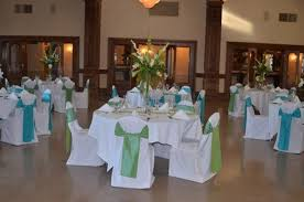 green and turquoise wedding dominion house weblog