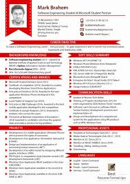 updated resume formats new style of resume format fishingstudio